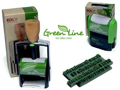 green line von colop stempel selbst gestalten stempel green line von colop www stempel. Black Bedroom Furniture Sets. Home Design Ideas