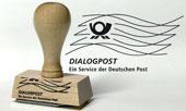 Dialogpost national Holzgriffstempel